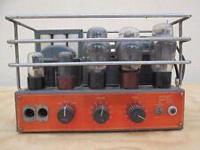#Tube #valve #amplifier #DUCATI 5X4 6L6 ( KT66 ) 6J7 6N7 MADE IN ITALY #CINEMA