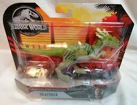 JURASSIC WORLD - *New* Jurassic World Movie Attack Pack Dracorex Dinosaur Toy