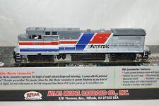 HO scale Atlas Amtrak GE -8-32BW passenger locomotive train DCC