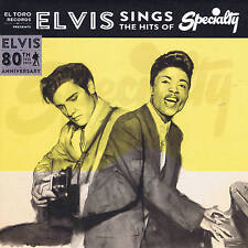 ELVIS PRESLEY - SINGS THE HITS OF SPECIALTY (4 x 1950s Rockers) BLACK WAX ISSUE