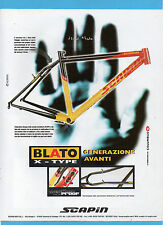 BICMON999-PUBBLICITA'/ADVERTISING-1999- BLATO X-TYPE by SCAPIN