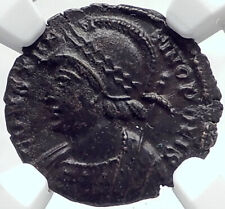 CONSTANTINE I the GREAT Founds Constantinople Ancient Roman Coin NGC i82332