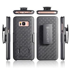 Samsung Galaxy S8 Plus/S8 Slim Carbon Fiber Shockproof Encust Classic Case Cover