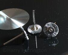 X3 Bonsai cepillos de alambre de acero inoxidable para Dremel
