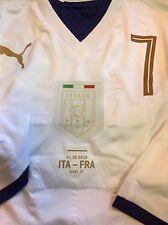 ITALIA maglia BONAVENTURA match worn shirt spieler maillot porté MILAN FRANCE