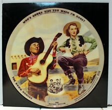 "Rare Vogue Picture Disc - The Down Homers & Kenny Roberts - Reissue - 10"" 45rpm"