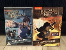 The Legend of Korra Book One: Air & Book Two: Spirits DVD Nickelodeon