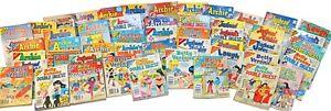 49 Vintage Archie Digest Comic Book Lot Jughead Laugh Betty Veronica Pals n Gals