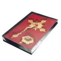 """10"""" Jesus Antique Gold Cross INRI Catholic Altar Standing Religious  !"""