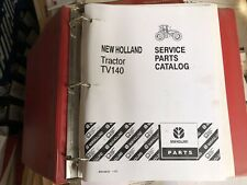 New Holland Tv140 Tractor Factory Genuine Parts Catalog