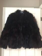 Vintage Fox?? Fur Coat Jacket Size S/M Fall Winter Clothes Women Ladies Mink??