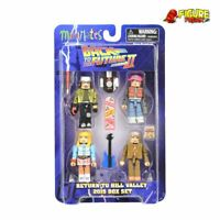 Back to the Future Minimates Return to Hill Valley 2015 Box Set