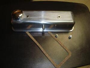 POLISHED ALLOY VALVE COVER  MG MIDGET, TRIUMPH SPITFIRE, w/ SPECIAL GASKET