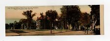 Emma Willard Troy Ny Club Presbyterian Church Congress Park Panoramic Postcard