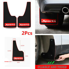 2pcs Universal Car SUV Mud Flaps Mudguards Front Rear Fender Splash Guard Parts