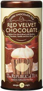 Red Velvet Chocolate Tea by The Republic of Tea, 36 tea bag