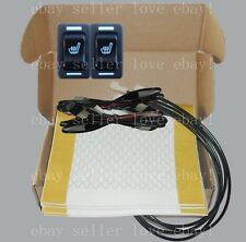 Auto seat heater universal rectangle switch,heated seat fit all 12V cars,trucks