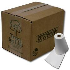 More details for 57mm x 30mm 57x30mm thermal paper credit card pdq streamline machine till rolls