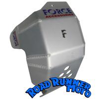 Force bash plate skid plate Silver KTM 250 350 EXC-F 12-16  Bashplate