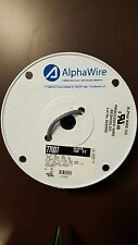 Multi-Conductor Cable, Alpha Wire 77007, Slate, 2 Cond, 22 AWG, 100 foot Roll