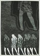 """""""media tic systeme"""" artiste et signature à déterminer 37/100 art moderne 1977"""