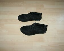 KANGOL Ladies  Black Suede Nylon Trainers Sz UK 5 38