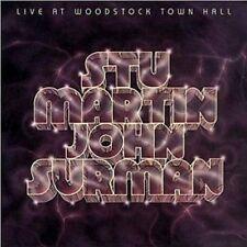 Stu Martin & John Surman Live At Woodstock Town Hall CD NEW SEALED Jazz