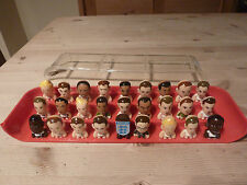 Complete Set of 27 Gogos Crazy Bones England 2010 includes all 5 Lasers & Dugout