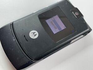 Motorola RAZR V3 - Black (Unlocked) Flip Mobile Phone
