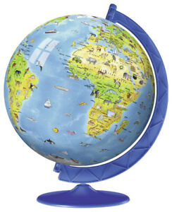 Ravensburger - Children's Globe 3D Puzzle 180pc
