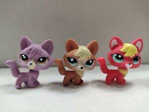 3pcs/Lot LPS Toy  pet shop fox #2642#1536 kid toy