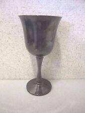 "Vintage Salem Silverplated Goblet Wine Glass, 5 5/8"" Tall"