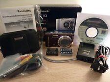 Panasonic LUMIX DMC-TZ10-12.1MP-12x Opt.Leica Zoom-GPS-HD Video-Top Zustand*OVP