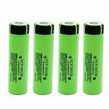 2x Panasonic ncr18650b li-Ione Batteria 3,7v 3400mah senza protezione elettronica lotti NUOVO