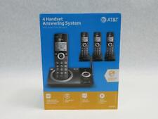 AT&T CL82419 Cordless Phone with Answering System and Smart Call Block - Black