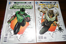 GREEN LANTERN #0 VARIANT AND TALON #0 NEW 52 SET