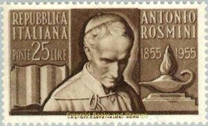 EBS Italy 1955 - Antonio Rosmini - Unificato 781 MNH**