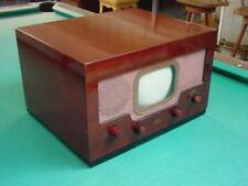 "Vintage 1940's Meck XA-701 Table Top 7"" TV"