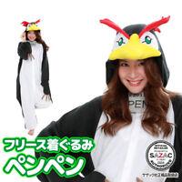 Sazac Evangelion Penpen Fleece Costume Black Penguin Cosplay Unisex Japan F/S