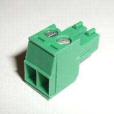 1 pc  2 pin-3.5mm Screw Pluggable Quick Connector-Terminal Block- Phoenix P