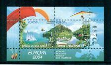 Serbia Montenegro  2004 Europa Holidays Hang Gliding Sailing Sky Diving MS  MNH