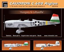 S.B.S Models, 1:72, 7012, Caudron C.600 Aiglon 'Hungary&Luftwaffe' full kit