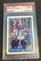 1992 1992-93 Topps #362 Shaquille O'Neal Shaq RC Rookie Card PSA 9 Mint