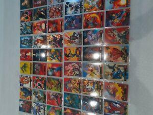 54 x Marvel '95 Ultra Fleer' trading cards - Joblot - Collection X men