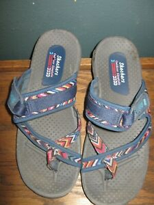 Skechers flip flops 8