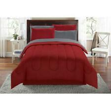 Mainstays Solid Bed in a Bag Coordinated Bedding Multiple Colors and Sizes