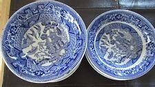 Set of 10 Buffalo Restaurant Ware Oriental Motif Berry Bowls - 2 Sizes