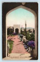 Santa Barbara, CA - SAMARKAND PERSIAN HOTEL - HAND COLORED POSTCARD - Y5