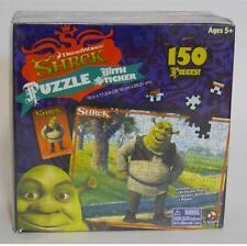 Dreamworks ~ Shrek ~ 150 Piece Collector Puzzle W Sticker Sheet & Poster ~ New