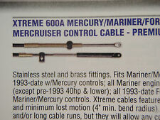 CONTROL CABLES PAIR 36FT 1-CCX17936 MERCURY MERCRUISER MARINER XTREME 36 FOOT